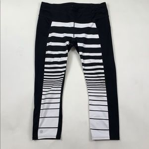 Athleta Striped Crop Leggings